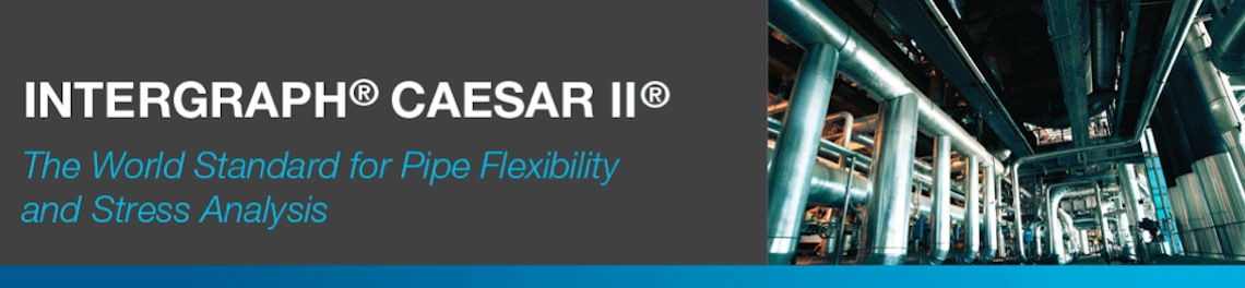 CAESAR II Intermediate Level : Piping with Static Equipment (Pressure & Tank)