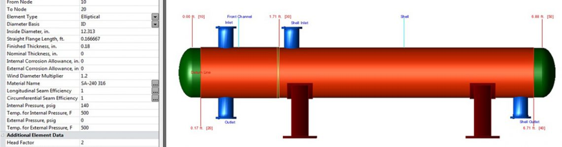 PV Elite Pressure Vessel Analysis